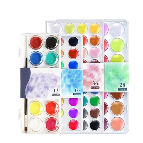 how to choose colors for painting 28 images how to 12 16 28 36 colors set solid watercolor cake outdoor paint