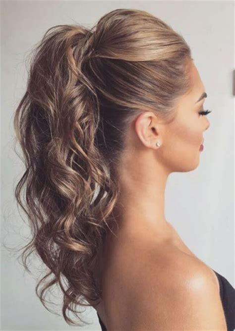 dressy ponytail hairstyles best 25 evening hairstyles ideas on pinterest medium