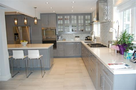 Kitchen Cabinet Installers Ikea Kitchen Bodbyn Grey Traditional Kitchen Toronto
