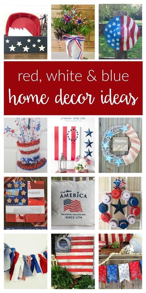 patriotic home decor ideas patriotic home decor ideas merry monday 159 two