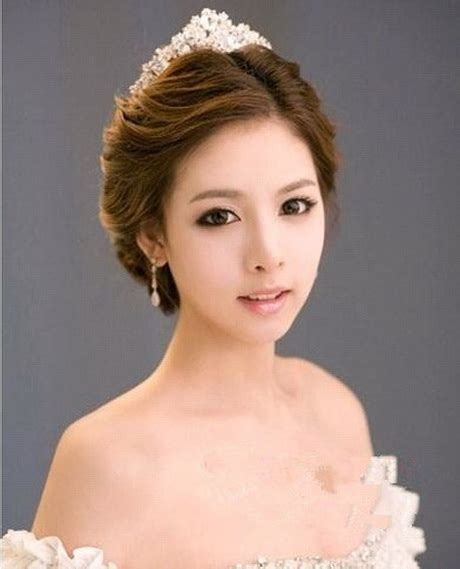 Asian Bridesmaid Hairstyles With Color | bridal hairstyles asian