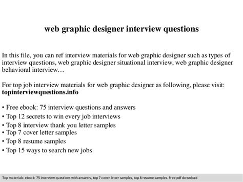 home design questions and answers web graphic designer interview questions