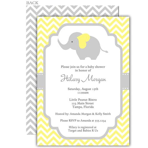 Yellow Gray And White Baby Shower by Best 25 Yellow Baby Showers Ideas On Cheap