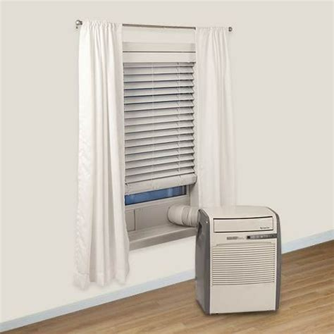compact portable air conditioner edgestar ultra compact 8 000 btu portable air conditioner