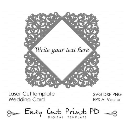 simple lace template for cards lace cards and invitations on
