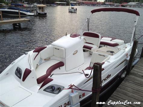 seadoo deck boat 2006 seadoo islandia 22 foot deck boat twin 155 rotax jet