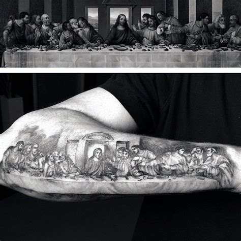 the last supper tattoo design 40 last supper designs for christian ink ideas