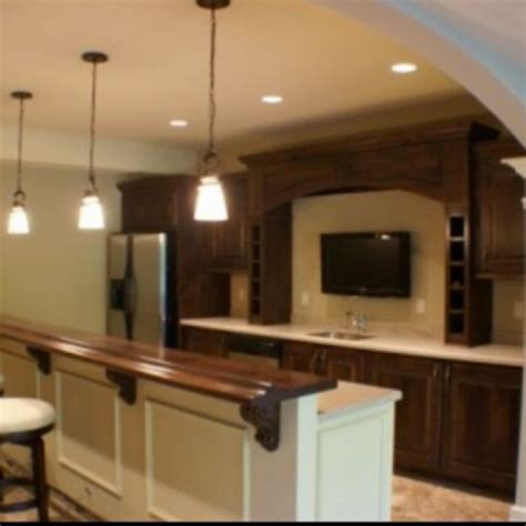 basement bar top house home pinterest