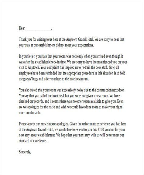 Response Complaint Letter Sle Hotel responding to a complaint letter hotel docoments ojazlink