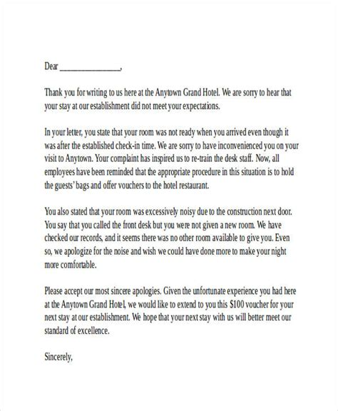 business letter template reply 34 complaint letter templates free premium templates