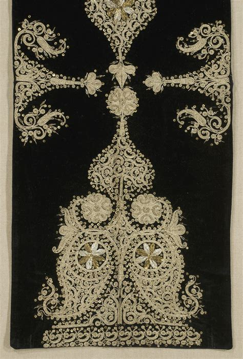 ottoman embroidery ottoman embroidered panel turkey late 19th century