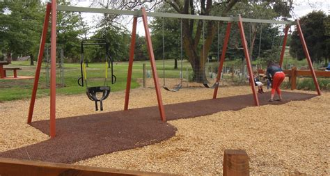swing sets melbourne mckenzie reserve adventure playground yarra glen melbourne