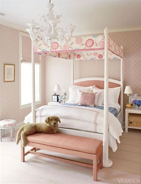 canopy for girls bedroom kids canopy bed with pink headboard transitional girl