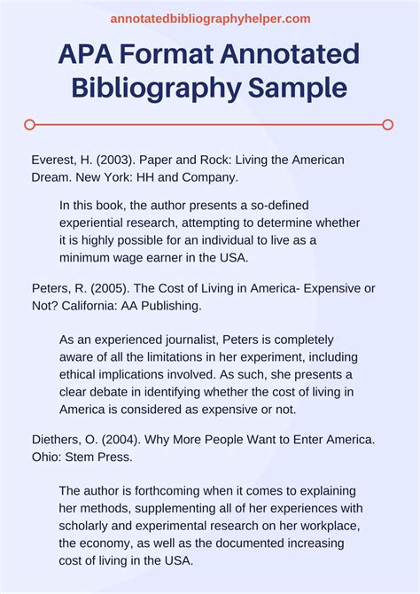 our apa format annotated bibliography services annotated