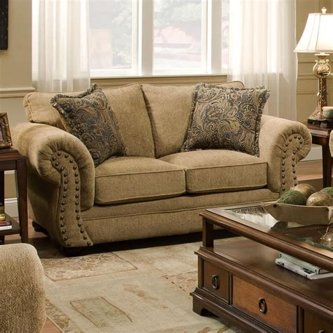 simmons sofa and loveseat simmons upholstery 4277 traditional loveseat with rolled