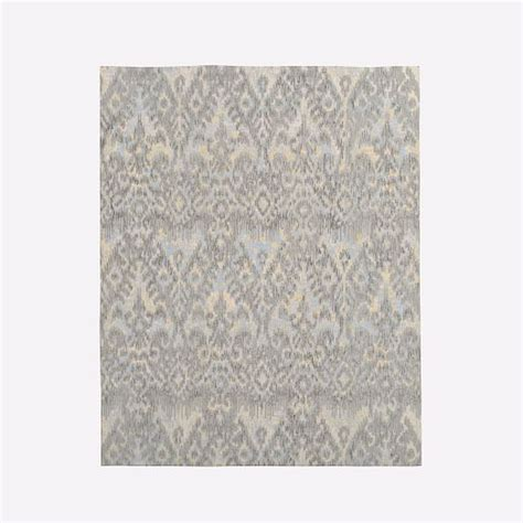 west elm ikat rug style ikat shine rug platinum west elm