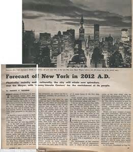new york times forecast new york of 2012 predicted by mayor robert f wagner 50