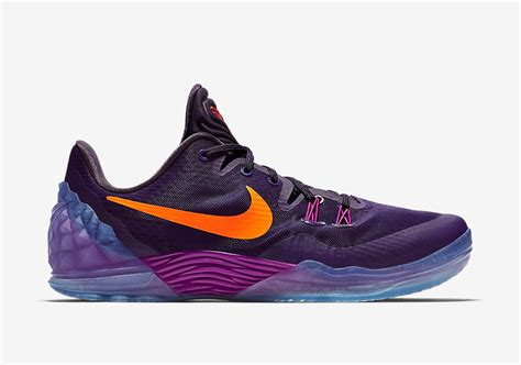 purple and orange basketball shoes purple orange womens nike icon shoes