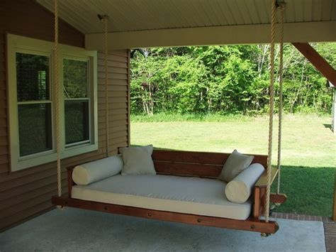 bed swing porch everything about outdoor bed swing