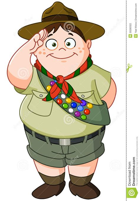 Boy Scout Stock Photography   Image: 30280322