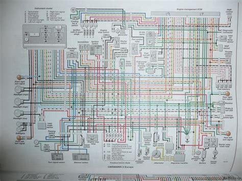 honda cbr 929rr wiring diagram honda vtr 1000 wiring