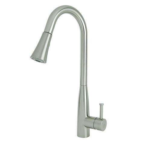 fontaine kitchen faucet fontaine nickel pull faucet nickel fontaine pull