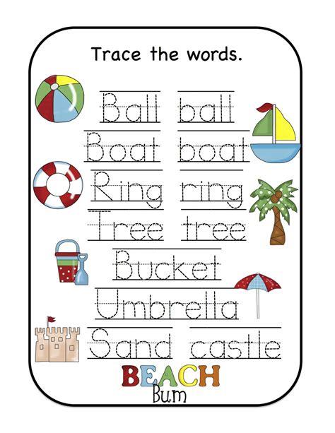5 Letter Words For Kindergarten preschool printables january 2013