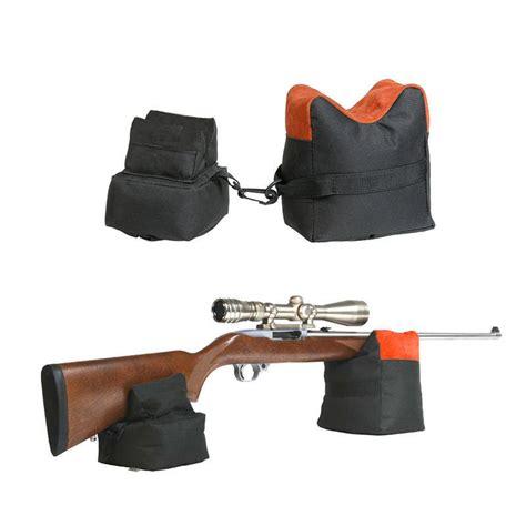 pistol bench rest bags rifle gun bench rest large shooting sand bag set range