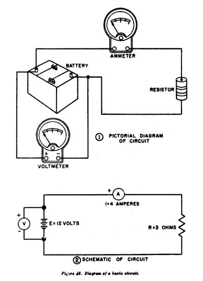 basic electrical diagrams and schematics wiring diagram