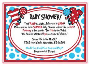dr seuss baby shower invitations templates ideas all