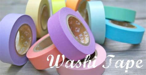 Washing Tape by Omiyage Blogs What Is Washi Tape