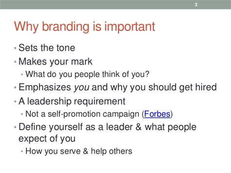 Why You Should Get Your Mba by 10 Tips For Building Your Personal Branding