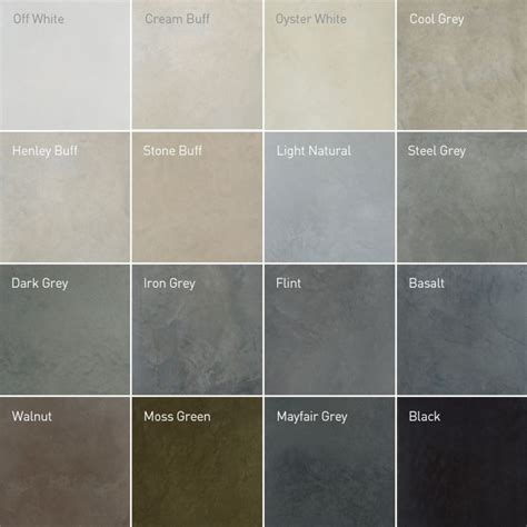 concrete color recommended polished concrete colours in 2019 laundry