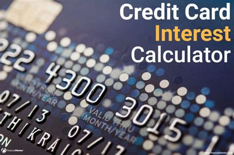 Revolving Credit Interest Formula Credit Card Interest Calculator How Much Interest Will I Pay