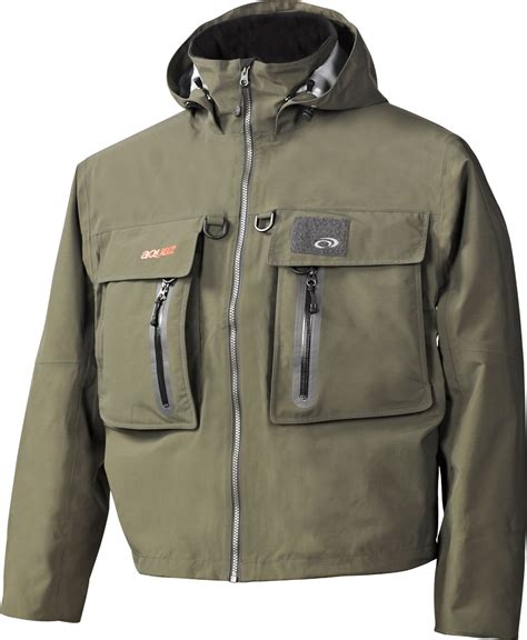 touchstone design wading jacket premium fishing gear made with the finest workmanship
