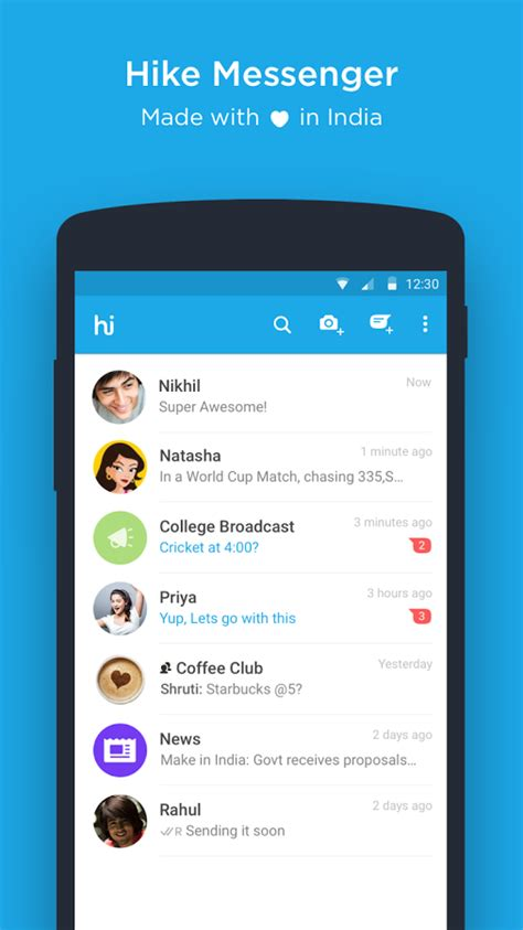 hike messenger apk free hike messenger apk android andy android emulator for pc mac