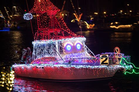 dana point holiday in the harbor boat parade lands for - Dana Point Christmas Boat Parade 2017