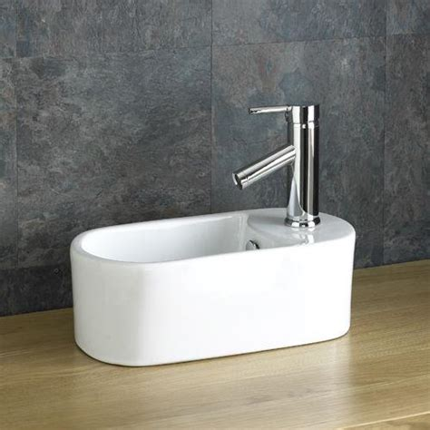 Space Saving Bathroom Sink by Space Saving Sink Small Basin 40 5cm X 20 5cm Countertop