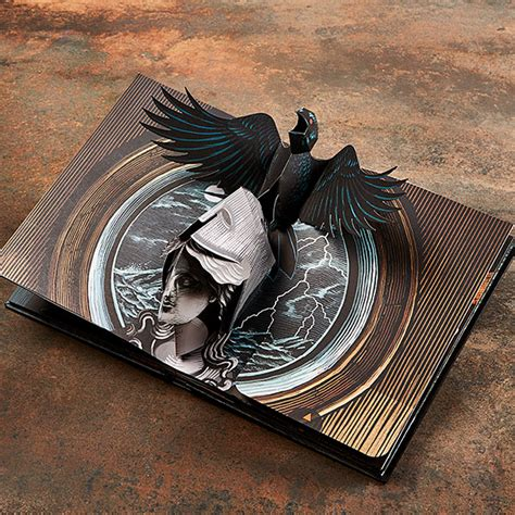 the raven a pop up the raven a pop up book thinkgeek