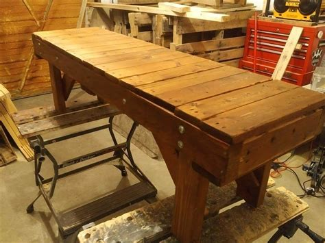 diy pallet bench seat turn old pallet into outdoor bench 101 pallets