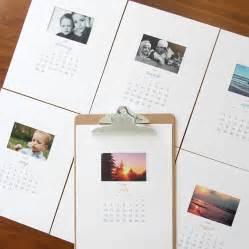 free printable 2016 photo calendar great diy gift idea