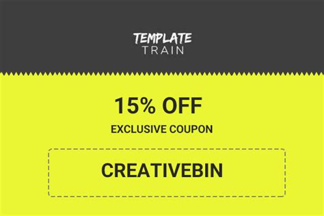 Template Train Coupon 2017 15 Off Exclusive Promo Code Template Coupon 2017