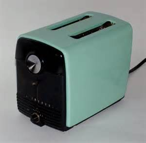 Can You Toast Bread In A Toaster Oven Vintage Westinghouse Enamel Toaster Iconic Aqua Color