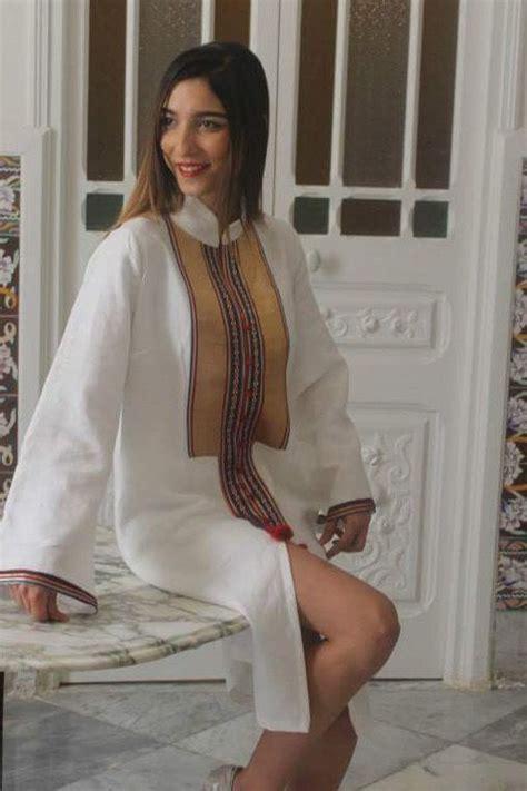 vetement traditionnel tunisienne habit traditionnel tunisien revisit 233 pour les jeunes