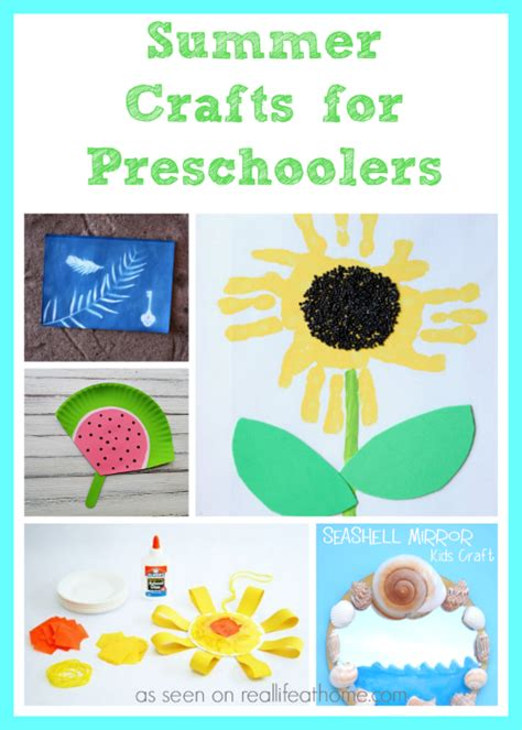 printable summer crafts for summer c out printables and activities real at home