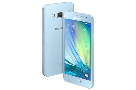 Samsung A3 New Samsung Announces The Galaxy A5 And Galaxy A3 Its
