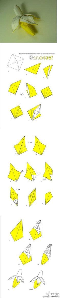 origami banana how to do origami how to make origami turtle