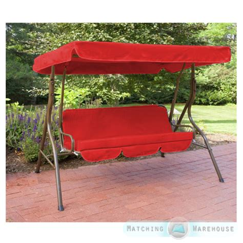 replacement canopy for swing chair replacement 3 seater swing seat canopy cover and cushions