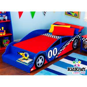 Toddler Race Car Bed Walmart Kidkraft Racecar Toddler Bed Walmart
