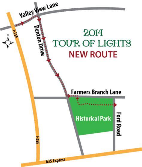 farmers branch tour of lights dec 6